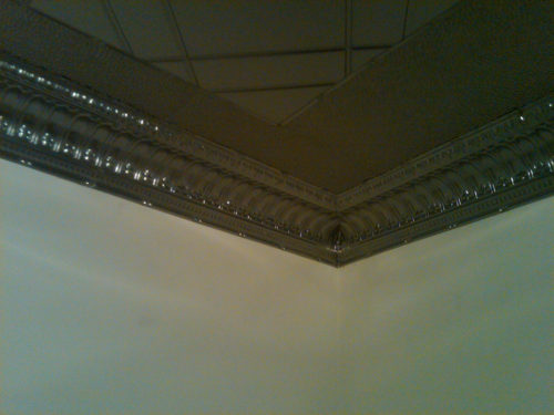 Chrome Tin ceilings