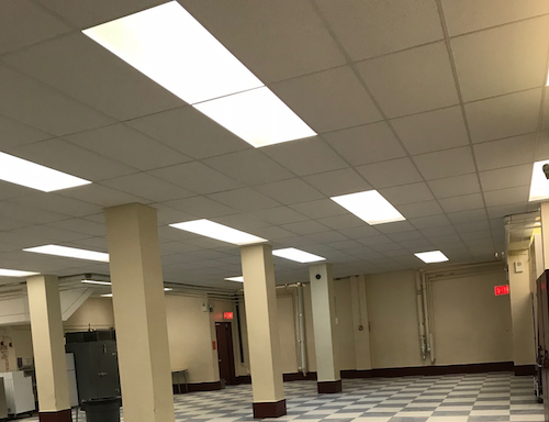 Drop ceiling commercial installations