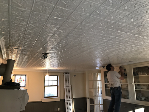 tin ceiling installation company