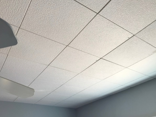 Abingdon Construction drop ceiling installations