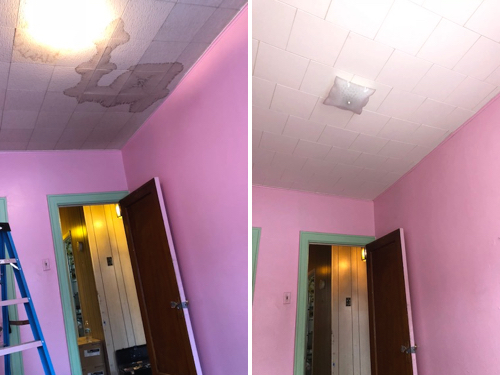 Residential drop ceiling