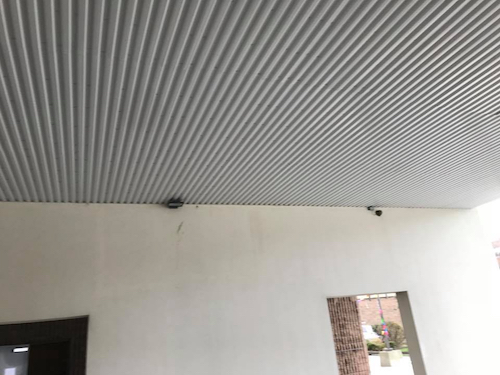 outdoor metal ceiling