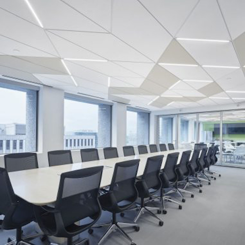 commercial ceiling design