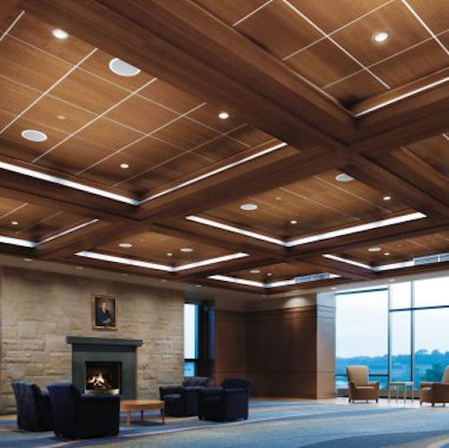 brown wood ceiling design