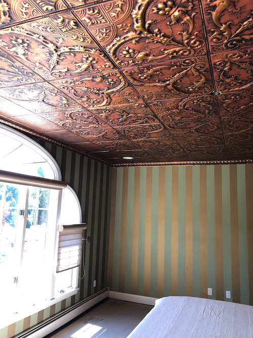 copper tin ceiling patterns